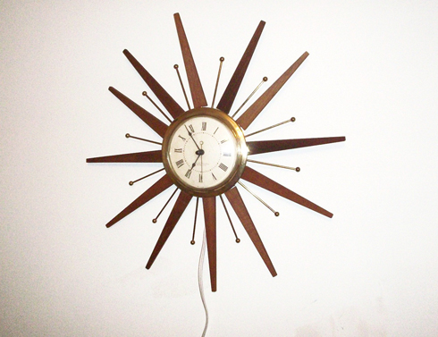 George nelson starburst clock for Nelson wall clock