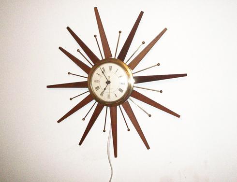 George Nelson Starburst Clock | myMCMlife.com