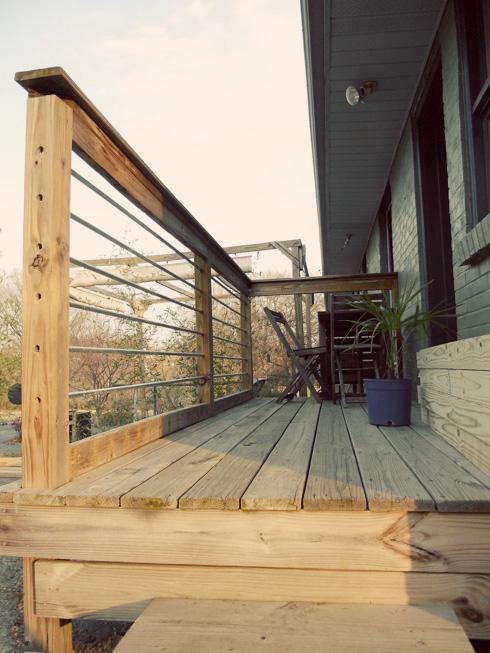 Metal Porch Pickets
