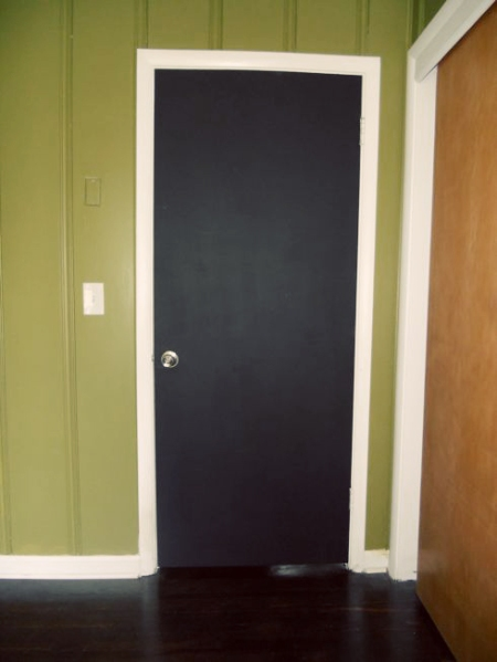 Chalkboard Door Before After Mymcmlife