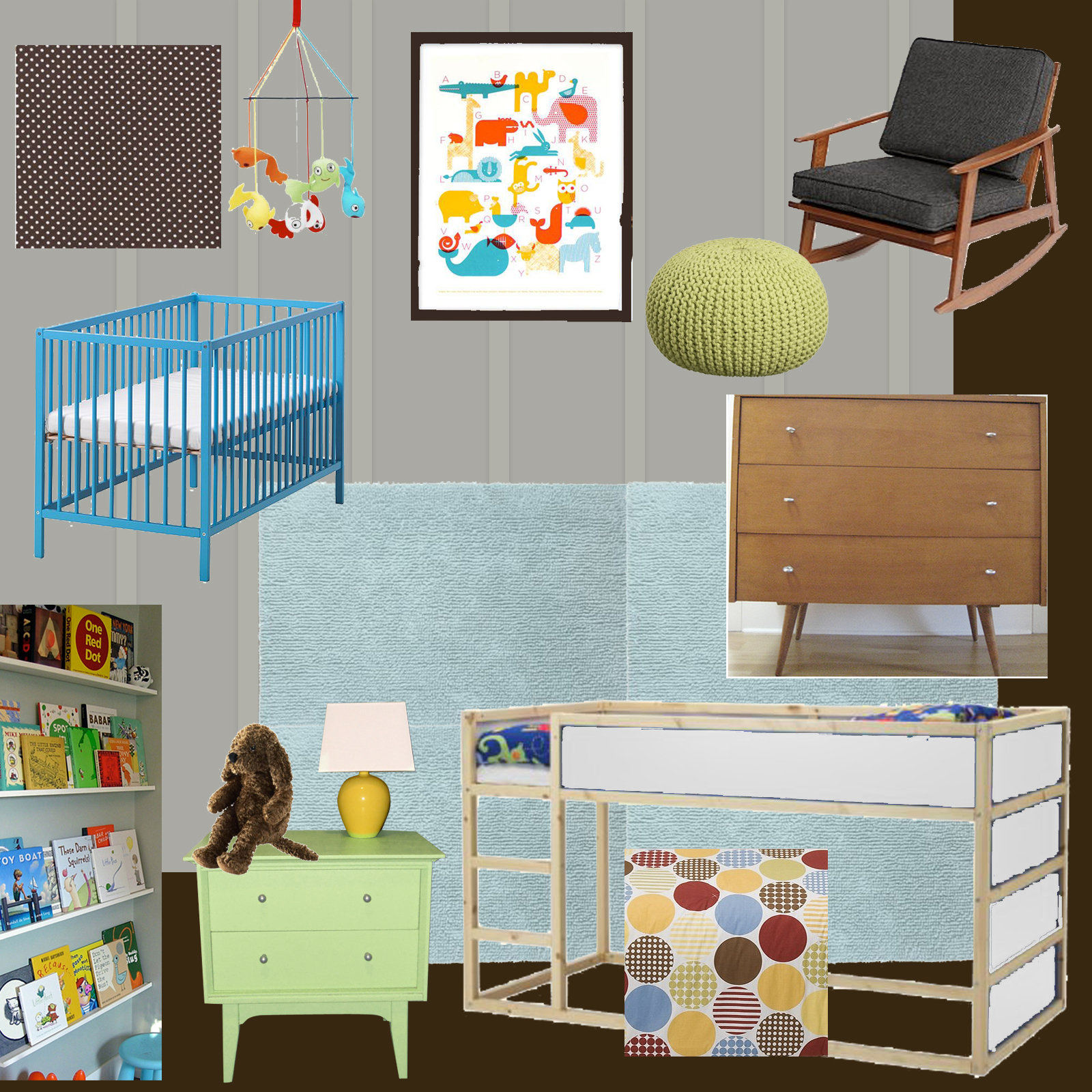 Gender Neutral Kids Room Ideas: Preparing A Bedroom For Foster Kids: Furniture & Decor