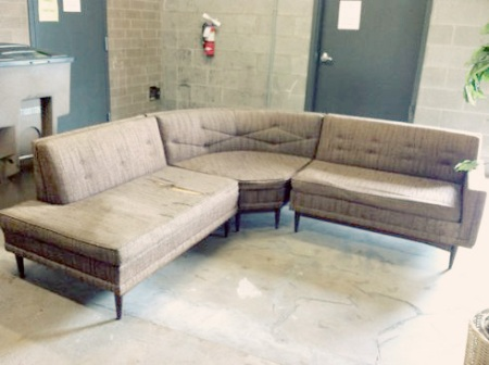 san francisco 4e76c 617ad Mid-Century Sectional Sofa | myMCMlife.com