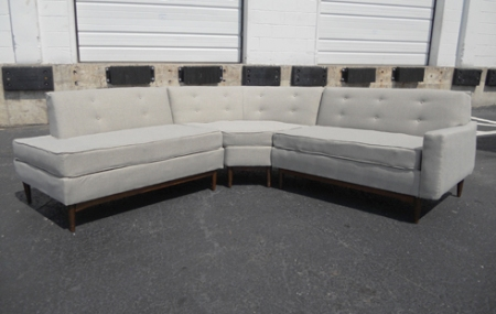 Surprising The Reupholstered Sectional Sofa Mymcmlife Com Inzonedesignstudio Interior Chair Design Inzonedesignstudiocom
