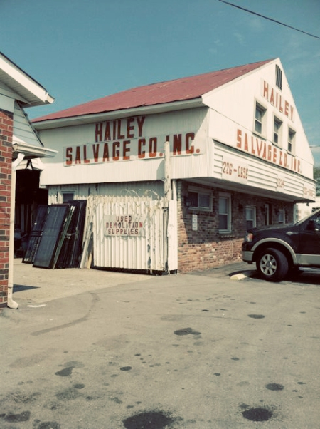 Hailey Salvage, Nashville, TN - myMCMlife.com