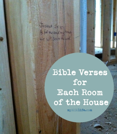 Scripture For Moving Into A New Home