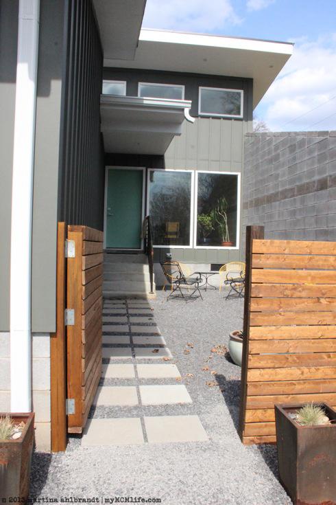 Art Modern Wood Fence Mymcmlife Com