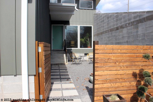 Diy Modern Wood Fence And Gate Courtyard Edition
