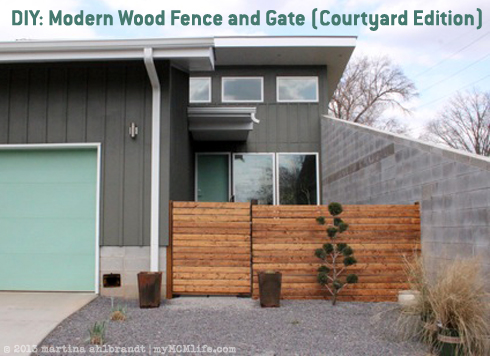 Fences & Gates Designs Diy modern wood fence and gate courtyard edition mymcmlife diy modern wood fence and gate courtyard edition workwithnaturefo