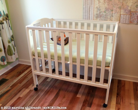 Ideal For Foster Parents Portable Folding Crib