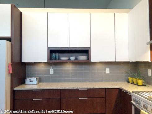 New Tile Backsplash In The Kitchen And Bathroom